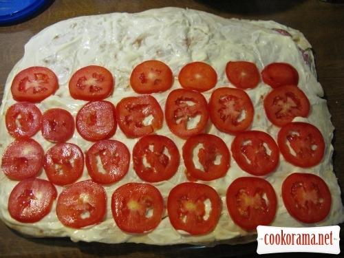 Roll from pita bread