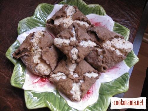 Печенье «Воздушные поцелуи» с ореховым безе