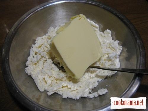 Snack Rafaello with horseradish