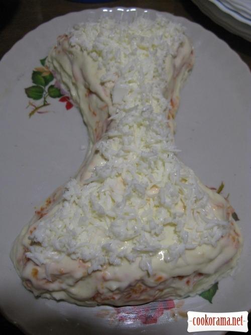 Salad «Sandglass»
