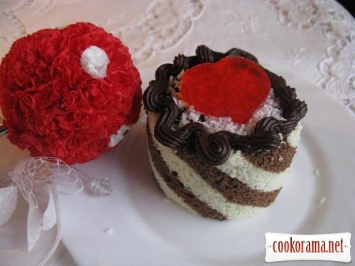 Пирожные «Любовь»