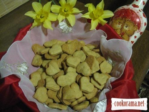 Пісне печиво на росолі