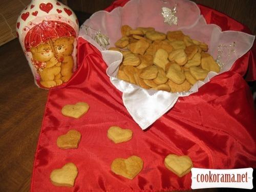 Пісне печиво на розсолі
