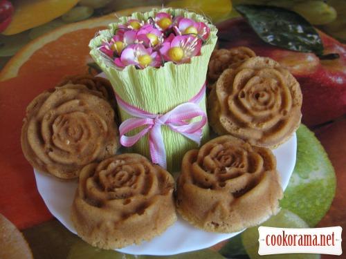 Кексики «Весна» з варенням