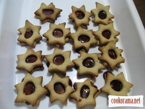 Печенье на манке