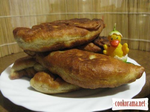 Пиріжки на кефірі