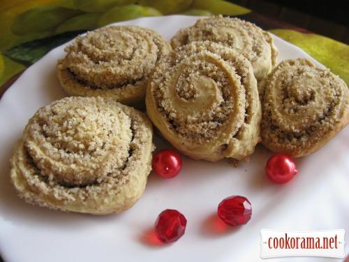 Пісочне печиво з горіхом