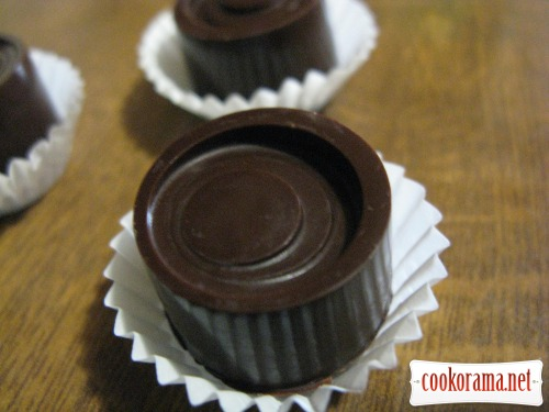Шоколадные конфеты с сгущенкой