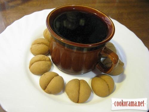 Имбирно-кофейное печенье