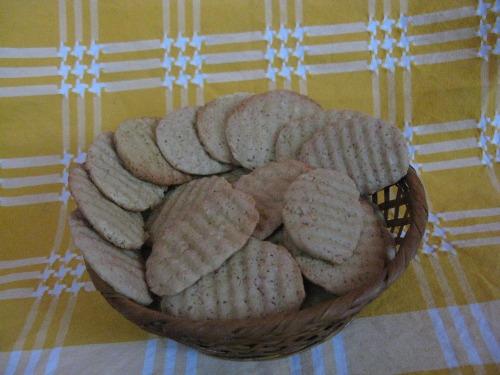 Сирне печиво з рожевим відтінком