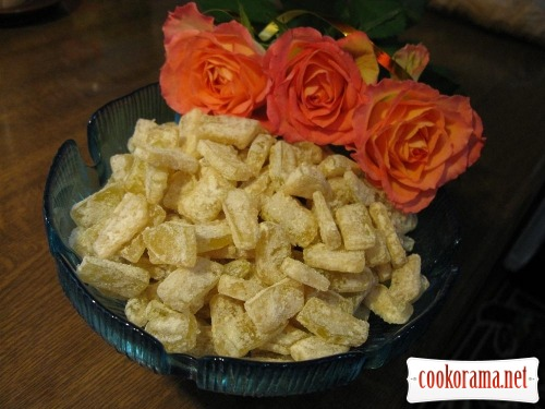Варенье или цукаты из арбузных корок