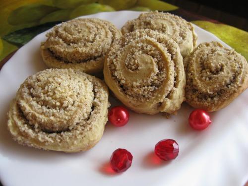 Песочное печенье с орехом