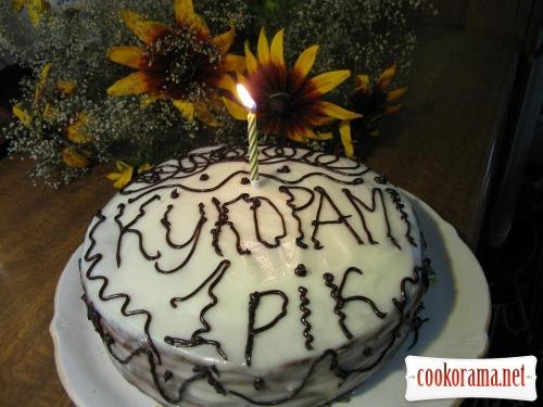 """Торт """"Кукораме 1 год"""""""
