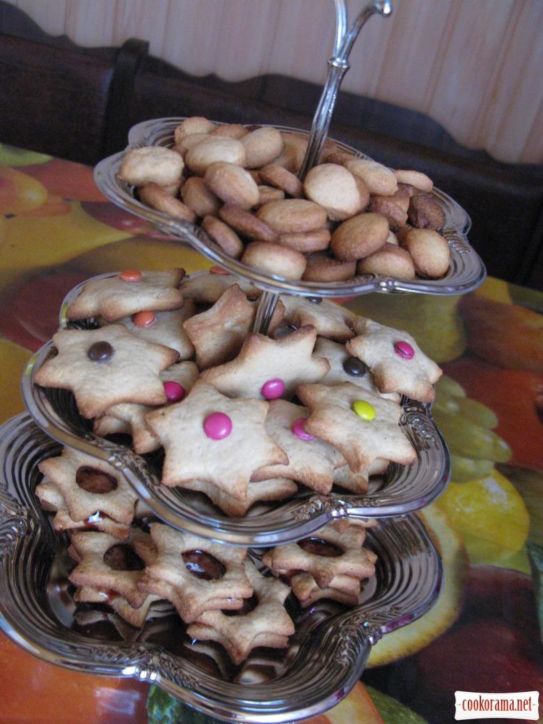 Печенье из манки