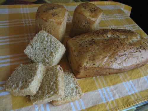 Хліб з цибулею