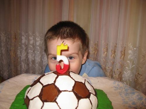 """Торт """"Футбольний м'яч"""""""
