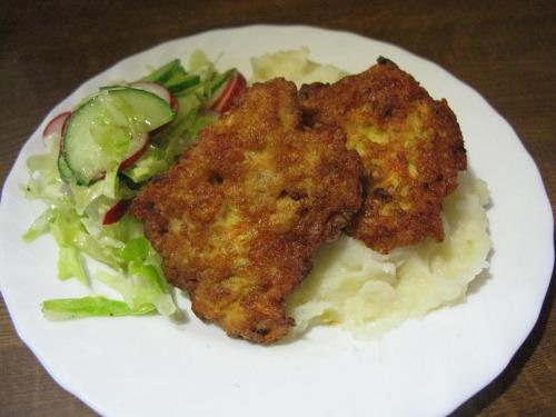 Котлеты рубленые куриные с сыром