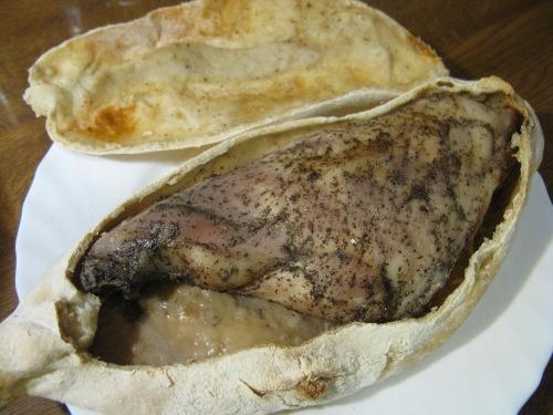 Мясо запечене в тісті