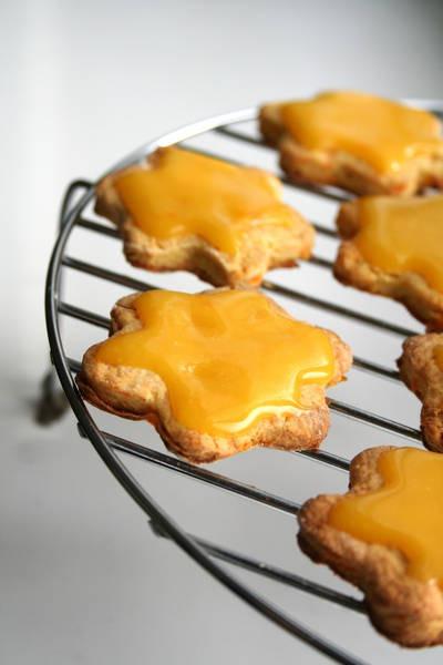 Тыквенное печенье с ириской