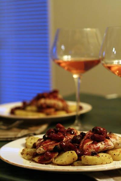 Magret aux cerises – качине філе у вишнях