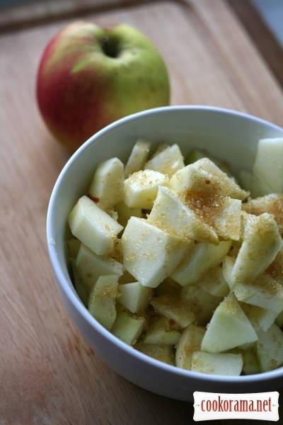 Баскський пиріг з яблуками
