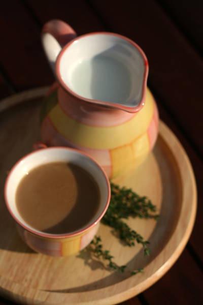 Кава з чебрецем