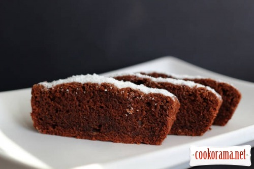 Шоколадний кекс