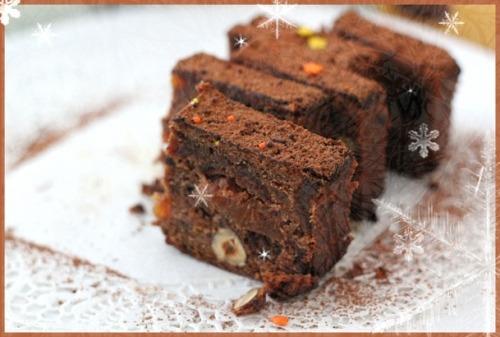 Christmas cake: express method
