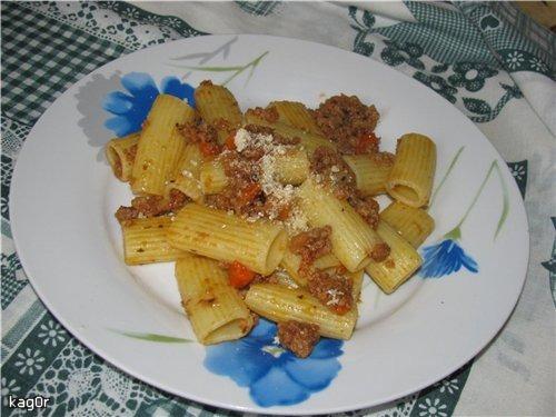 Рагу наполітанське - Ragu napoletano