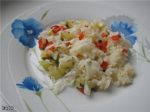 Рис з солодким перцем