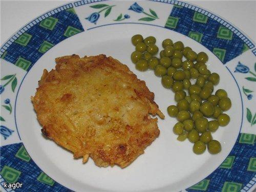 Риба в картопляній шубі