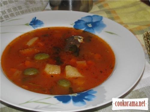 Рыбный суп холостяка