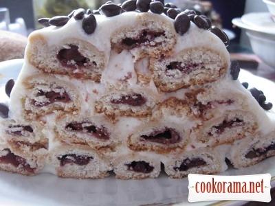 Торт «Дрова під снігом»