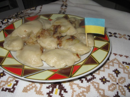Vareniki with cabbage