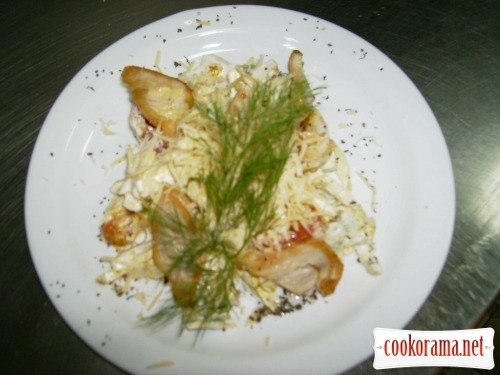 «Sikilivskiy» salad