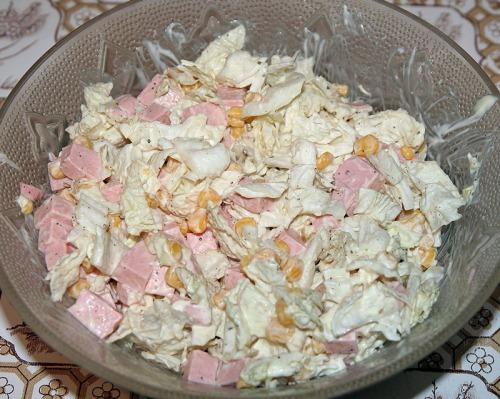Разные салаты с рецептами и