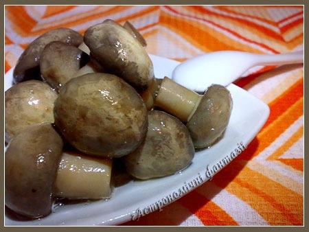 Маринованные грибочки по-венесуэльскому