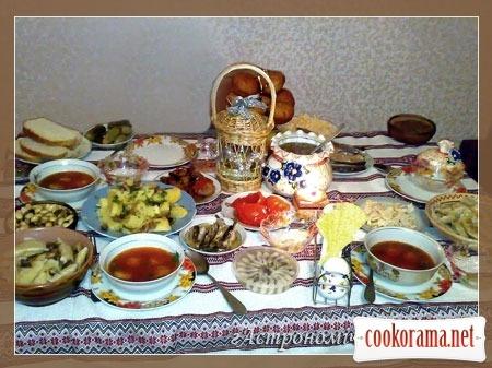 Наш Різдвяний стіл