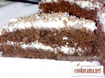 Любимый шоколадный торт