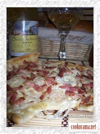 Эльзасский пирог - «Фламмкухен»