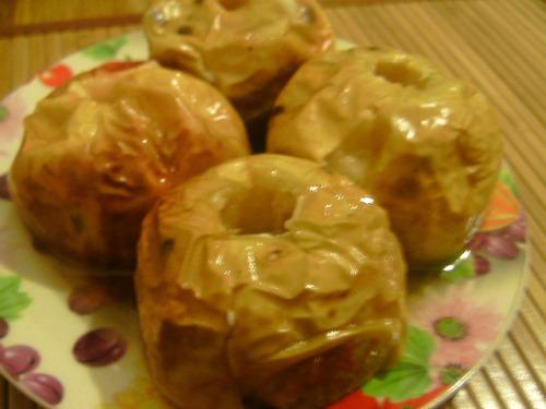 Яблука печені з медом
