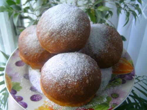 Постные пончики на дрожжах рецепт пошагово
