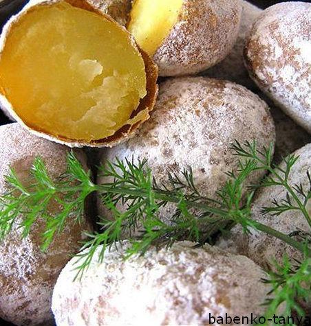 Картопля в шкаралупі