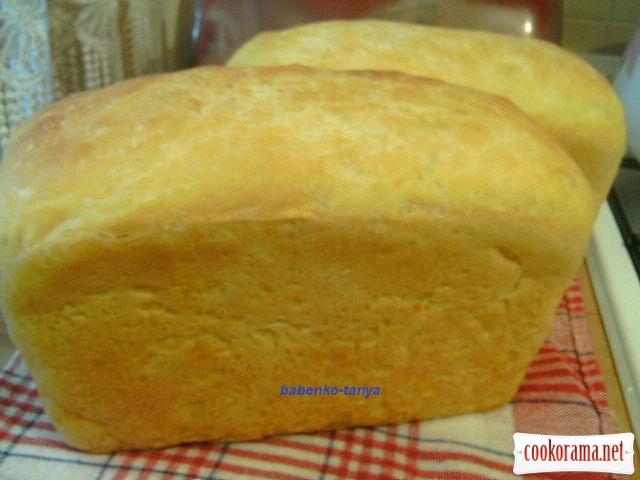 Гарбузовий хліб.
