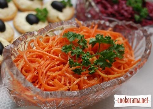 Морква «По-корейськи»