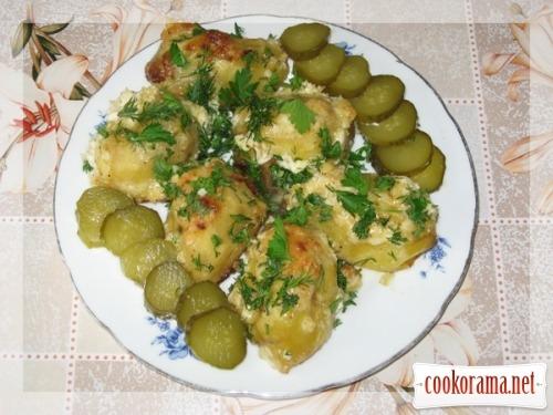 Печена картопелька