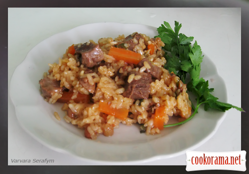 "Pilaf ""Almost Georgian"""