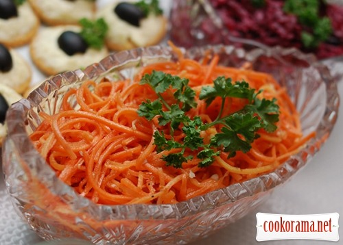 "Морковь ""По-корейски"""