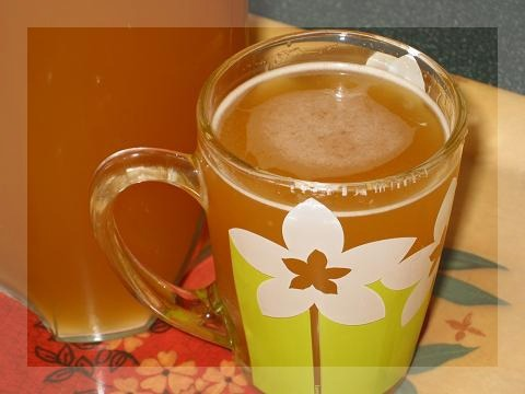 Homemade kvass (with sugar)