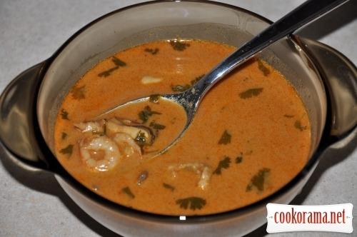 Thai soup «Tom Yam Kung»